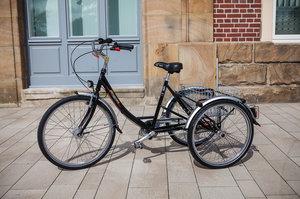 """Proven 26/24""""  Trehjulig elcykel - Pfiff"""