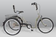 Comfort trehjuling för vuxna - Pfiff